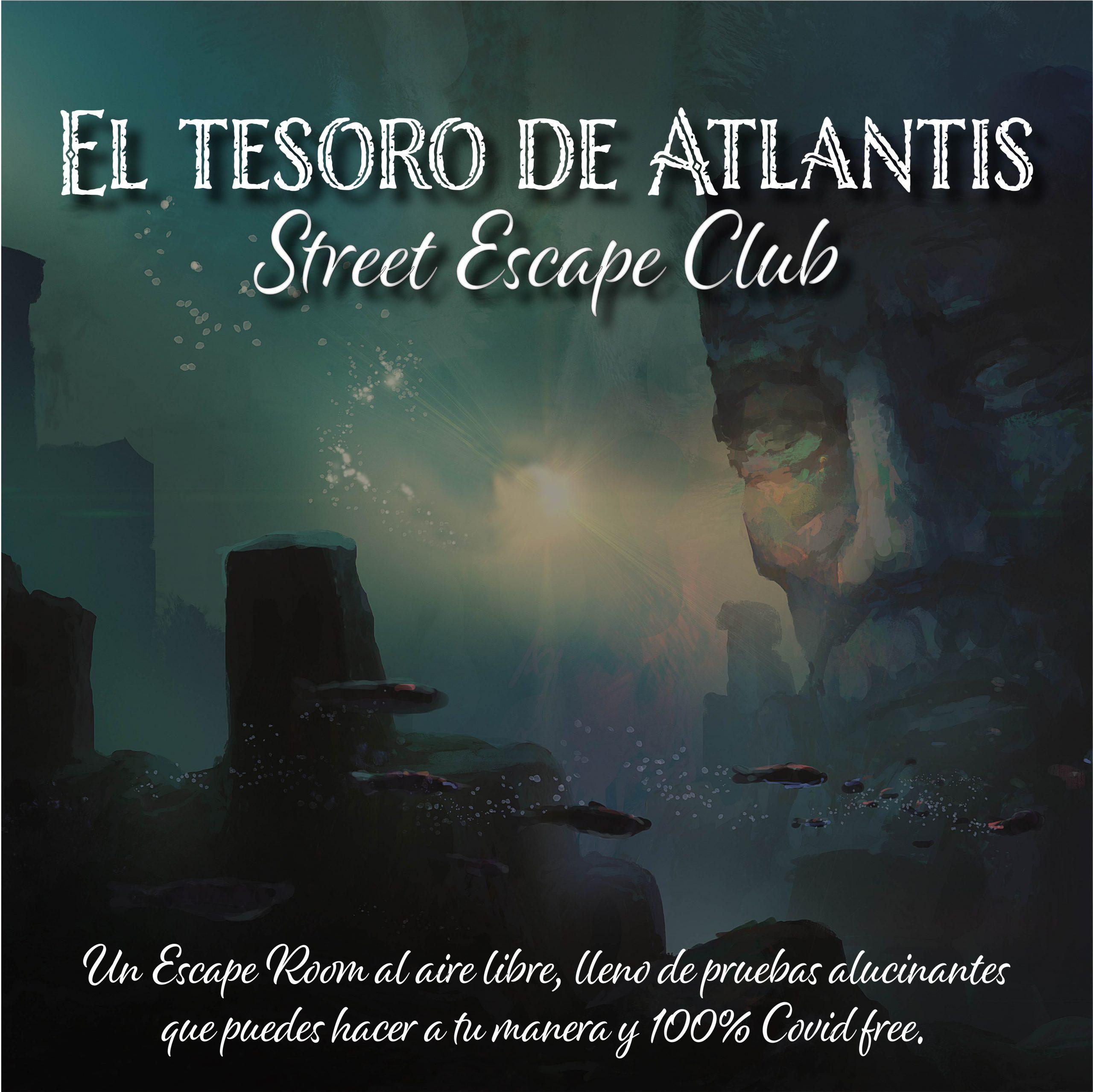 El tesoro de Atlantis Street Escape
